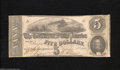 Confederate Notes:1862 Issues, T53 $5 1862....