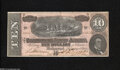 Confederate Notes:1864 Issues, T68 $10 1864....