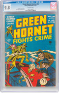 Golden Age (1938-1955):Crime, Green Hornet Comics #35 (Harvey, 1947) CGC NM/MT 9.8 Off-white pages....