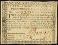 Colonial Notes:Rhode Island, Fully Issued Rhode Island July 2, 1780 $7 Very Fine-ExtremelyFine.. ...