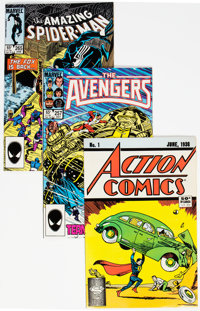Marvel/DC Group of 3 (Marvel/DC, 1985-88) Condition: Average VF.... (Total: 3 )