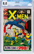 Silver Age (1956-1969):Superhero, X-Men #35 (Marvel, 1967) CGC VF 8.0 White pages. F...