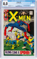 X-Men #35 (Marvel, 1967) CGC VF 8.0 White pages
