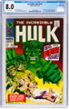The Incredible Hulk #102 (Marvel, 1968) CGC VF 8.0 White pages