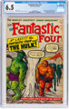 Fantastic Four #12 (Marvel, 1963) CGC FN+ 6.5 Cream to off-white pages