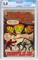 Fantastic Four #8 (Marvel, 1962) CGC VG/FN 5.0 Off-white to white pages