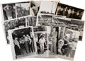 Photography:Official Photos, Press Photographs (13) of Race Riots and Demonstrations....