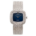 Estate Jewelry:Watches, Rolex Lady's Diamond, White Gold Watch. ...