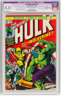 Bronze Age (1970-1979):Superhero, The Incredible Hulk #181 (Marvel, 1974) CGC Apparent VG 4.0 Slight(A) Off-white to white pages....