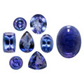 Estate Jewelry:Unmounted Gemstones, Unmounted Tanzanite. ... (Total: 8 Items)