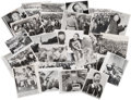 Photography:Official Photos, Press Photographs (24) of Dr. Martin Luther King, Jr....
