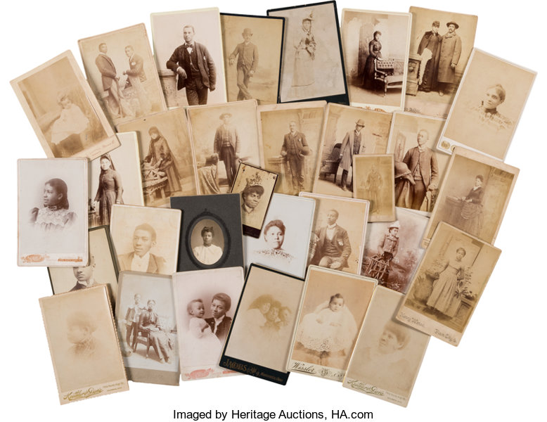 PhotographyCabinet Photos Cabinet Cards And Cartes De Visite Of African Americans InOhio