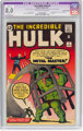 The Incredible Hulk #6 (Marvel, 1963) CGC Apparent VF 8.0 Slight (A) Off-white to white pages