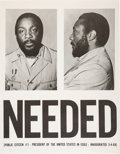 Miscellaneous:Broadside, NEEDED Dick Gregory Poster....