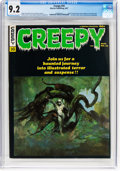 Magazines:Horror, Creepy #16 (Warren, 1967) CGC NM- 9.2 Off-white to white pages....