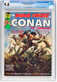 Savage Sword of Conan #1 (Marvel, 1974) CGC NM/MT 9.8 Off-white to white pages
