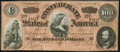 Confederate Notes:1864 Issues, T65 $100 1864 PF-3 Cr. 494 Extremely Fine.. ...