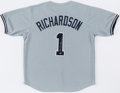 Autographs:Jerseys, Bobby Richardson New York Yankees Signed Jersey. ...
