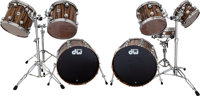 Ginger Baker Syage used DW Drum Set (Drums Only)