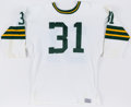 Football Collectibles:Uniforms, 1970s Jim Taylor Green Bay Packers Replica Jersey. ...