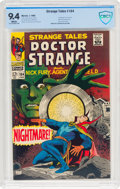 Silver Age (1956-1969):Horror, Strange Tales #164 (Marvel, 1968) CBCS NM 9.4 White pages....