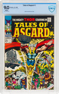 Silver Age (1956-1969):Superhero, Tales of Asgard #1 (Marvel, 1968) CBCS VF/NM 9.0 White pages....