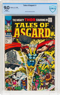 Tales of Asgard #1 (Marvel, 1968) CBCS VF/NM 9.0 White pages