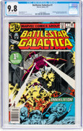 Bronze Age (1970-1979):Science Fiction, Battlestar Galactica #1 (Marvel, 1979) CGC NM/MT 9.8 Off-white to white pages....