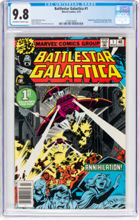 Battlestar Galactica #1 (Marvel, 1979) CGC NM/MT 9.8 Off-white to white pages