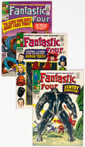 Silver Age (1956-1969):Superhero, Fantastic Four Group of 34 (Marvel, 1965-76) Condition: AverageVF.... (Total: 34 Comic Books)