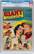 """Golden Age (1938-1955):Miscellaneous, Giant Comics Editions nn #1 Davis Crippen (""""D"""" Copy) Pedigree (United Feature Syndicate, 1940s) CGC FN/VF 7.0 Cream to off-whi..."""