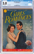 Golden Age (1938-1955):Romance, Girls' Romances #1 (DC, 1950) CGC GD/VG 3.0 Off-white pages....
