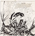 Original Comic Art:Covers, Alex Niño Nightmare #2 Unpublished Cover Original Art(Innovation, 1989)....