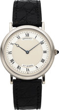Timepieces:Wristwatch, Breguet Very Fine Ref. 2426-A White Gold Automatic Wristwatch. ...
