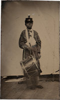 Photography:Tintypes, Drummer Boy Tintype. ...