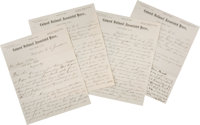 Letter From William Murrell, General Manager of the Colored National Associated Press to James Blaine's Presidential Cam...