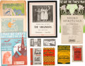 Entertainment Collectibles:Music, Group of Music and Entertainment Related Materials. ...