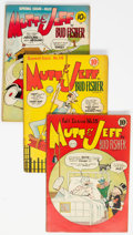 Golden Age (1938-1955):Humor, Mutt and Jeff Group of 19 (DC, 1944-51) Condition: Average VG+.... (Total: 19 Comic Books)