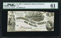 Confederate Notes:1862 Issues, T44 $1 1862 PF-3 Cr. 341 PMG Uncirculated 61.. ...