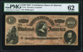 "Confederate Notes:1864 Issues, CT65/491 ""Havana Counterfeit"" $100 1864 PMG Uncirculated 62.. ..."