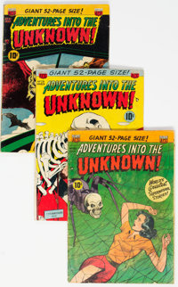 Adventures Into The Unknown Group of 14 (ACG, 1951-54) Condition: Average VG-.... (Total: 14 Comic Books)