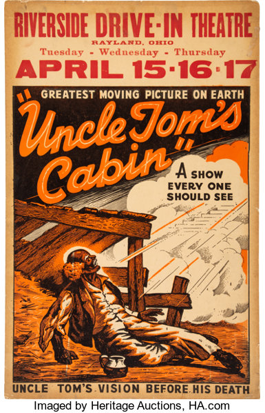 Riverside Drive In Uncle Tom S Cabin Poster