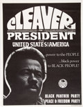 Miscellaneous:Broadside, Cleaver For President of the United States of AmericaPoster....