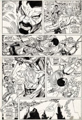 Original Comic Art:Panel Pages, Gil Kane and Frank Giacoia Amazing Spider-Man #104 Page 14 Original Art (Marvel, 1972)....
