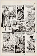 Original Comic Art:Panel Pages, John Buscema The Savage Sword of Conan #15 Story Page 6 Original Art (Marvel, 1976)....