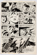 Original Comic Art:Panel Pages, Frank Thorne Red Sonja #10 Story Page 16 Original Art(Marvel, 1978)....