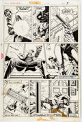 Paul Gulacy Master of Kung Fu #40 Story Page 5 Original Art (Marvel, 1976)