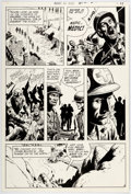 Original Comic Art:Panel Pages, Russ Heath Our Army At War #218 Story Page 9 Sgt. Rock Original Art (DC, 1970)....
