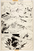 Original Comic Art:Panel Pages, Russ Heath Our Army At War #271 Story Page 7 Sgt. Rock Original Art (DC, 1974)....