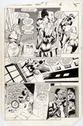 Original Comic Art:Panel Pages, Mark Beachum and Joe Rubinstein Spectacular Spider-ManAnnual #5 Story Page 5 Original Art (...